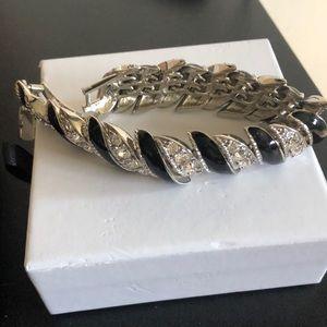 Crystal Enamel/ Metal Bracelet